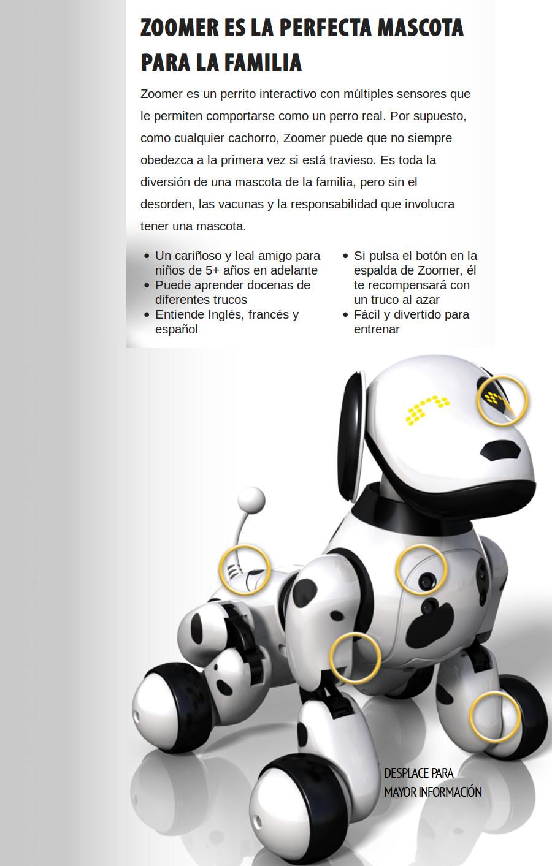 Compra Zoomer 2.0 Perro Robot Mascota Interactivo online | Linio México
